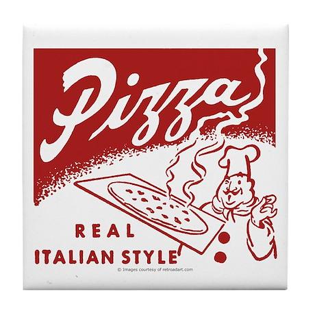 Pizza Tile Coaster