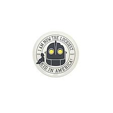 Iron Giant Luckiest Kid Hogarth Mini Button