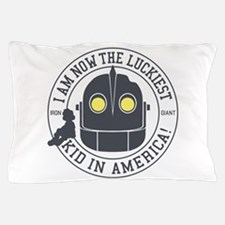 Iron Giant Luckiest Kid Hogarth Pillow Case