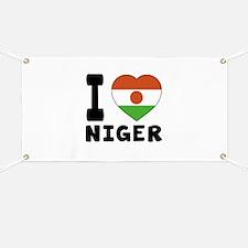 I Love Niger Banner
