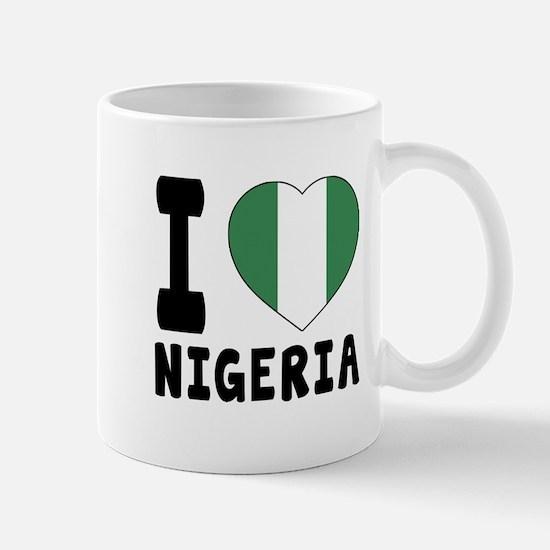 I Love Nigeria Mug