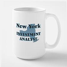 New York Investment Analyst Mugs