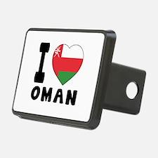 I Love Oman Hitch Cover