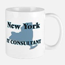 New York It Consultant Mugs