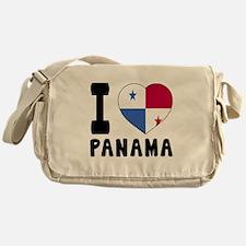 I Love Panama Messenger Bag