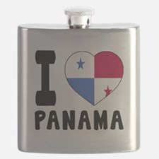 I Love Panama Flask