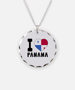 I Love Panama Necklace
