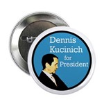 Ten Kucinich for President Buttons