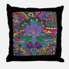 Cute Namaste Throw Pillow