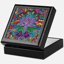 Cute Lotus Keepsake Box
