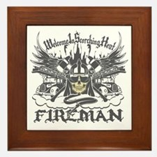 Welcome to Scorching Heat Framed Tile