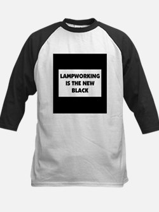 Lampworking is the New Black Kids Baseball Jersey