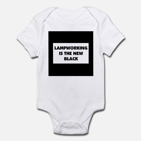 Lampworking is the New Black Infant Bodysuit