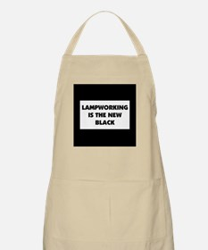 Lampworking is the New Black BBQ Apron