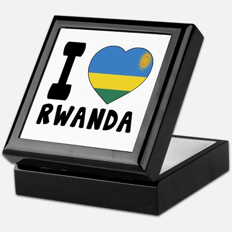 I Love Rwanda Keepsake Box