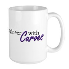 Engineer with Curves Mug