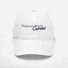 Engineer with Curves Baseball Baseball Cap