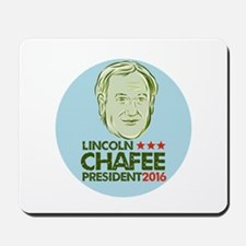 Lincoln Chafee President 2016 Mousepad