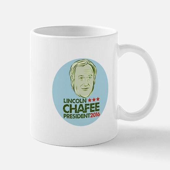 Lincoln Chafee President 2016 Mugs