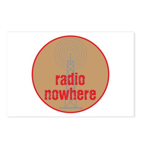 Radio Nowhere Postcards (Package of 8)