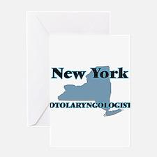 New York Otolaryngologist Greeting Cards