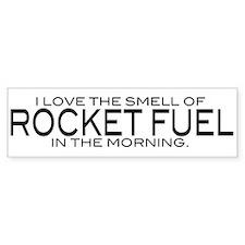 Rocket Fuel Bumper Bumper Sticker