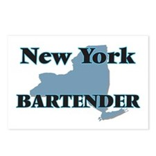 New York Bartender Postcards (Package of 8)