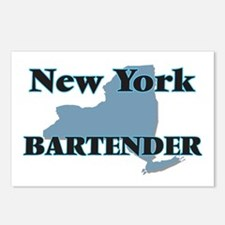 New York Bartender Postcards (Package of 8)