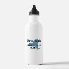 New York Basketball Pl Water Bottle