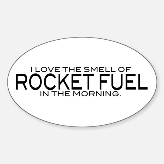 Rocket Fuel Oval Decal