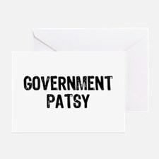 Government Patsy Greeting Card