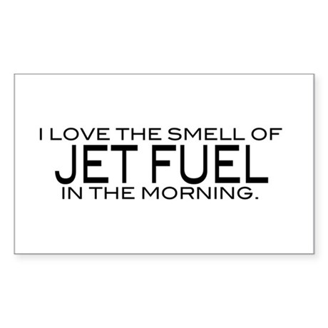 Jet Fuel Rectangle Sticker
