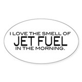 Aviation jet fuel Stickers