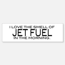 Jet Fuel Bumper Car Car Sticker