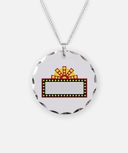 Broadway Sign Necklace