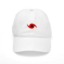 Horizontal Hurricane Symbol Baseball Cap