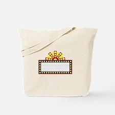 Broadway Sign Tote Bag