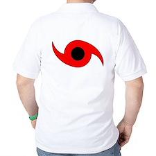 Horizontal Hurricane Symbol T-Shirt