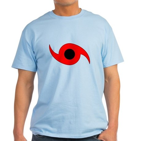 Horizontal Hurricane Symbol Light T-Shirt
