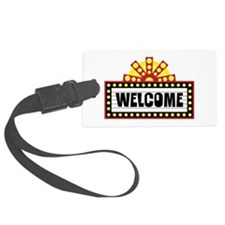 Welcome Sign Luggage Tag