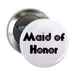 "Maid of Honor 2.25"" Button (10 pack)"