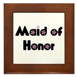 Maid of Honor Framed Tile