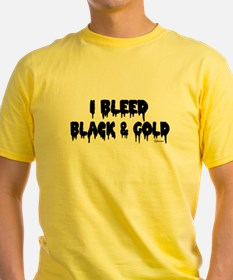 I Bleed Black and Gold T