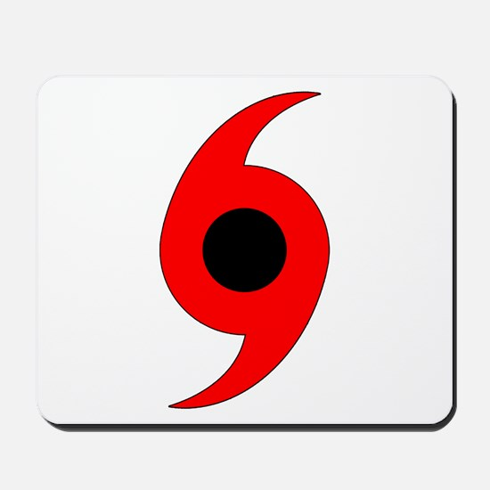 Hurricane Symbol Mousepad