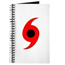 Hurricane Symbol Vertical Journal