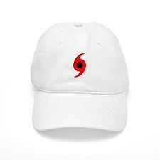 Hurricane Symbol Vertical Baseball Cap