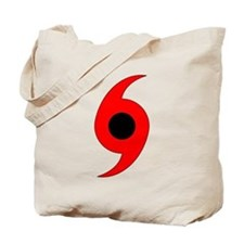 Hurricane Symbol Tote Bag