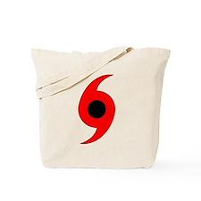 Hurricane Symbol Vertical Tote Bag