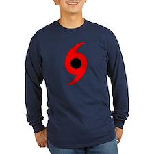 Hurricane Symbol Vertical T