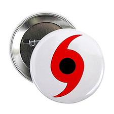Hurricane Symbol Vertical Button